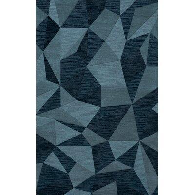 Bella Blue Area Rug Rug Size: 4 x 6