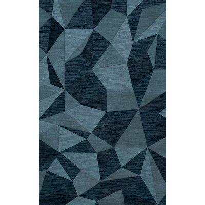 Bella Blue Area Rug Rug Size: 8 x 10