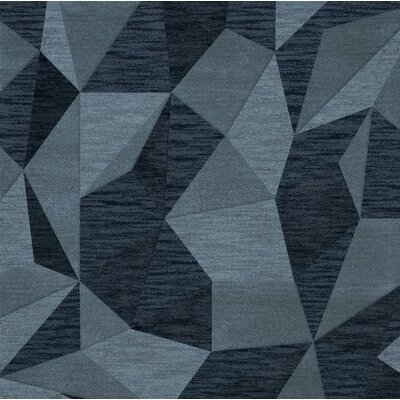 Bella Blue Area Rug Rug Size: Square 6