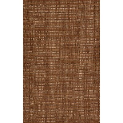 Nepal Hand-Loomed Spice Area Rug Rug Size: Rectangle 36 x 56