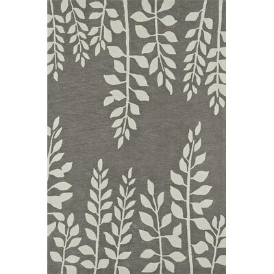 Journey Hand-Tufted Graphite Area Rug Rug Size: Rectangle 8 x 10
