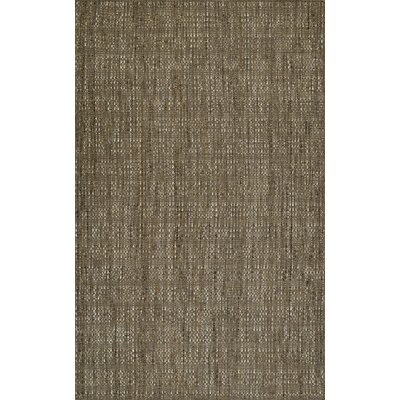 Nepal Hand-Loomed Mocha Area Rug Rug Size: Rectangle 9 x 13
