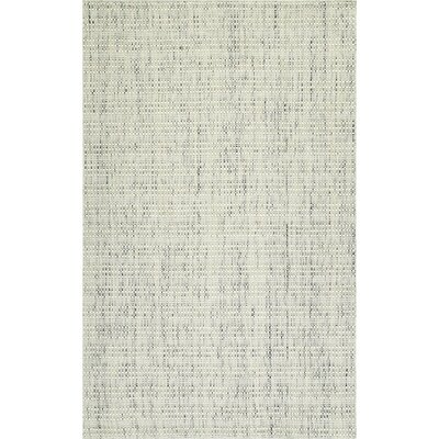 Nepal Hand-Loomed Tufted Wool Ivory Area Rug Rug Size: Rectangle 36 x 56