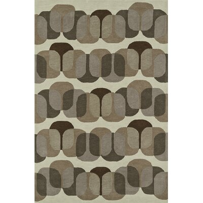 Journey Hand-Tufted Earth Area Rug Rug Size: 36 x 56