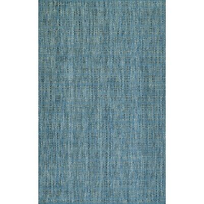 Nepal Hand-Loomed Denim Area Rug Rug Size: Rectangle 36 x 56