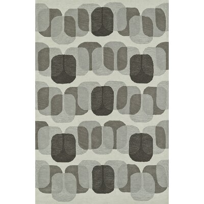 Journey Hand-Tufted Linen Area Rug Rug Size: Rectangle 36 x 56