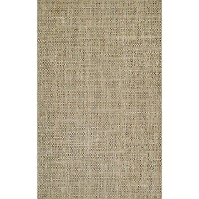 Nepal Hand-Loomed Sand Area Rug Rug Size: Rectangle 36 x 56