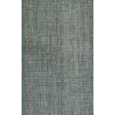 Nepal Hand-Loomed Gray Area Rug Rug Size: Rectangle 36 x 56