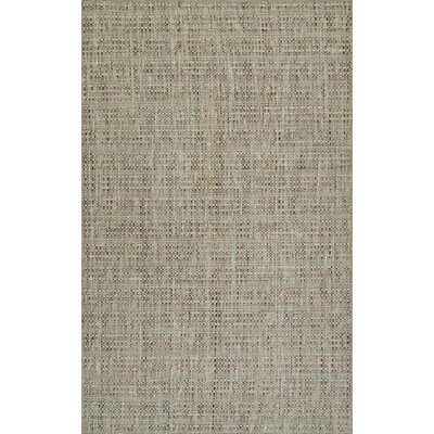 Nepal Hand-Loomed Tufted Wool Taupe Area Rug Rug Size: Rectangle 5 x 76