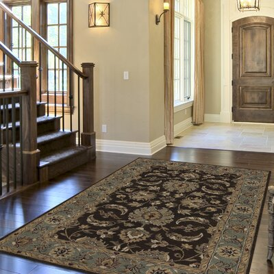 Standish Chocolate Rug Rug Size: Runner 23 x 8
