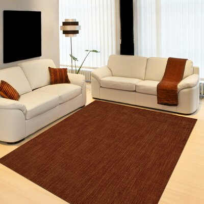 Dionne Paprika Solid Rug Rug Size: Rectangle 36 x 56