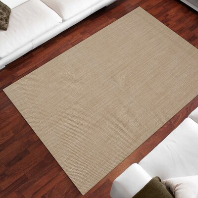 Dionne Taupe Solid Rug Rug Size: Rectangle 8 x 10