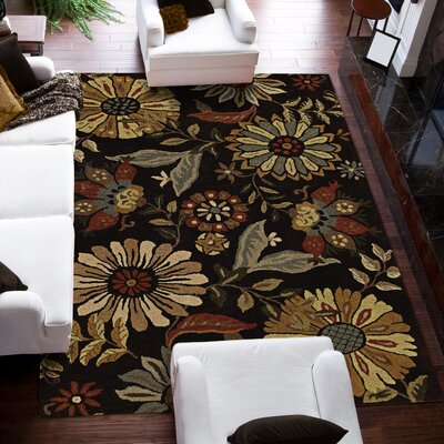 Jewel Sable Rug Rug Size: Rectangle 36 x 56