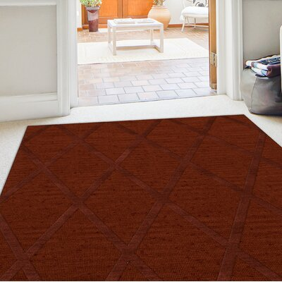 Dover Paprika Area Rug Rug Size: Rectangle 10 x 14