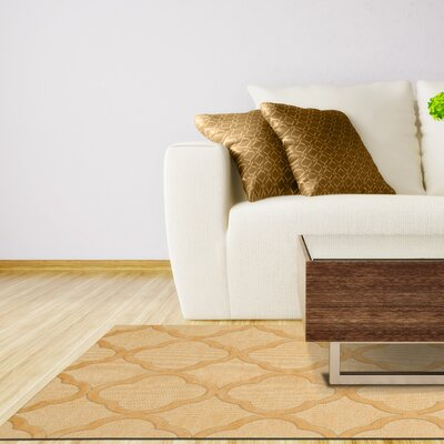 Dover Lemon Ice Area Rug Rug Size: Octagon 4'