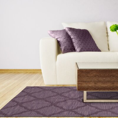 Dover Viola Area Rug Rug Size: Rectangle 12 x 18