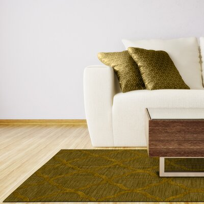 Dover Avocado Area Rug Rug Size: Rectangle 9 x 12
