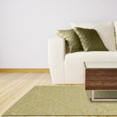 Dover Mint Area Rug Rug Size: Rectangle 12 x 18
