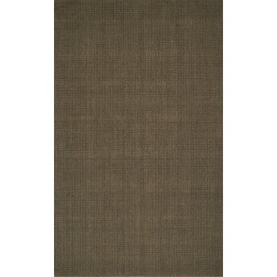 Dionne Hand-Tufted Fudge Area Rug Rug Size: Rectangle 8 x 10