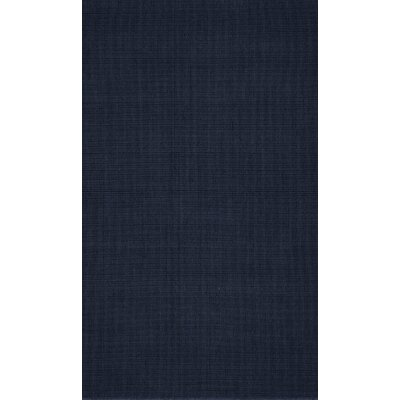 Dionne Hand-Tufted Navy Area Rug Rug Size: Rectangle 9 x 13