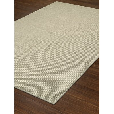 Dionne Hand-Tufted Ivory Area Rug Rug Size: Rectangle 36 x 56