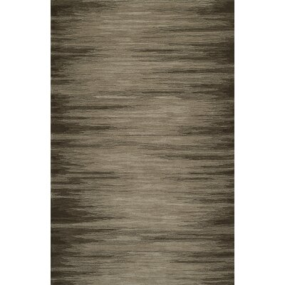 Delmar Hand-Tufted Chocolate Area Rug Rug Size: Rectangle 8 x 10