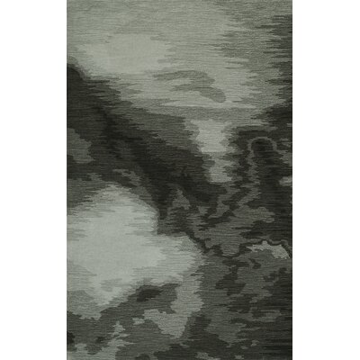Delmar Hand-Tufted Graphite Area Rug Rug Size: Rectangle 8' x 10'