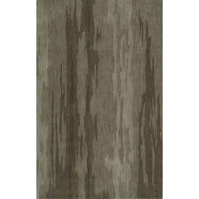 Delmar Hand-Tufted Taupe Area Rug Rug Size: Rectangle 5 x 76