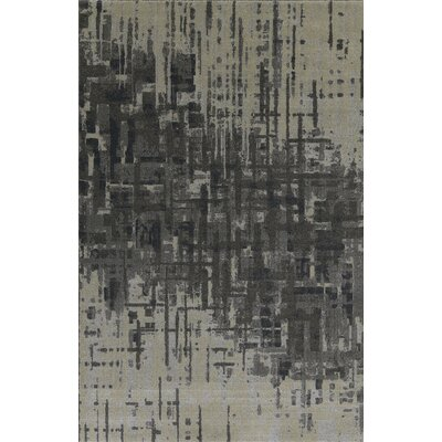 Upton Pewter Area Rug Rug Size: Rectangle 53 x 77