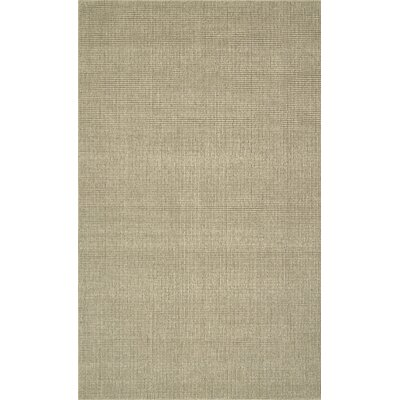 Dionne Hand-Tufted Oatmeal Area Rug Rug Size: Rectangle 36 x 56