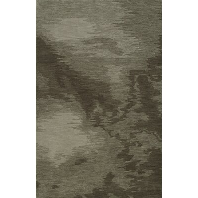 Delmar Hand-Tufted Taupe Area Rug Rug Size: Rectangle 36 x 56