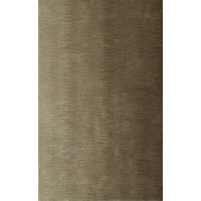 Delmar Hand-Tufted Taupe Area Rug Rug Size: Rectangle 9 x 13