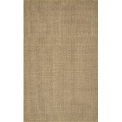 Dionne Hand-Tufted Wheat Area Rug Rug Size: 36 x 56