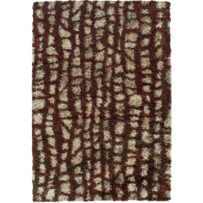Zhora Paprika Area Rug Rug Size: Rectangle 53 x 77