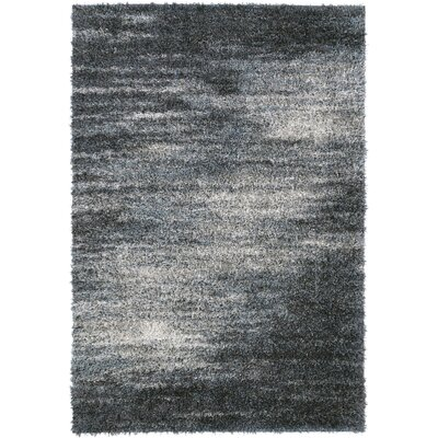 Zhora Charcoal Area Rug Rug Size: Rectangle 96 x 132