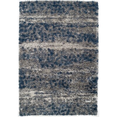 Zhora Denim/Gray Area Rug Rug Size: Rectangle 53 x 77