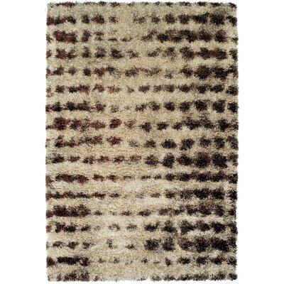 Zhora Sand Area Rug Rug Size: Rectangle 53 x 77