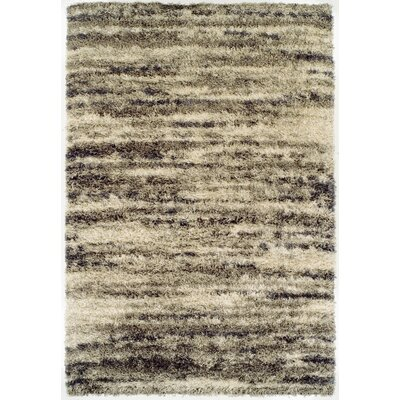 Zhora Khaki Area Rug Rug Size: Rectangle 96 x 132