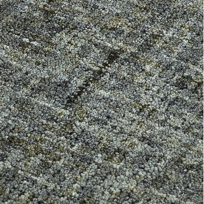 Gilboa Hand-Tufted Wool Carbon Area Rug Rug Size: Rectangle 5 x 76
