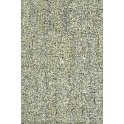 Gilboa Hand-Tufted Wool Chambray Area Rug Rug Size: 36 x 56