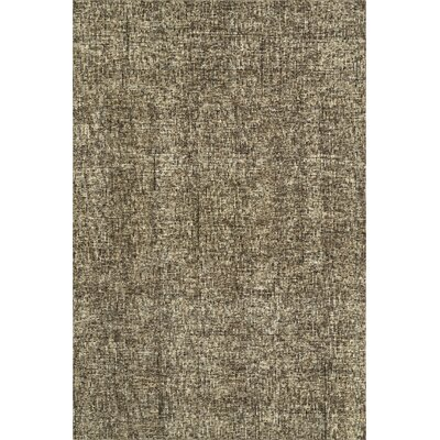 Gilboa Hand-Tufted Wool Coffee Area Rug Rug Size: 36 x 56