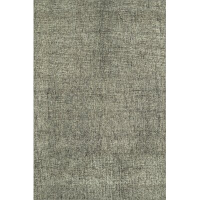 Gilboa Hand-Tufted Wool Fog Area Rug Rug Size: Rectangle 36 x 56