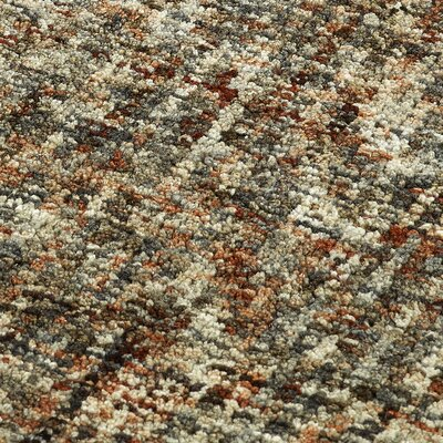 Gilboa Hand-Tufted Wool Kaleidoscope Area Rug Rug Size: Rectangle 9 x 13