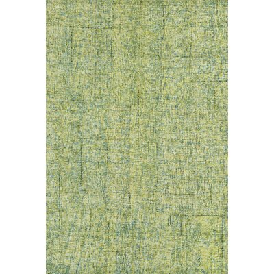 Gilboa Hand-Tufted Wool Kiwi Area Rug Rug Size: 36 x 56
