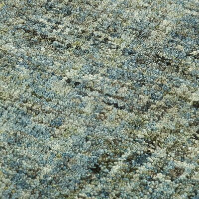 Gilboa Hand-Tufted Wool Seaglass Area Rug Rug Size: Rectangle 5 x 76