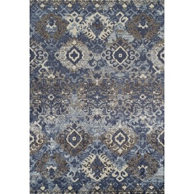 Milo Navy Area Rug Rug Size: Rectangle 33 x 51