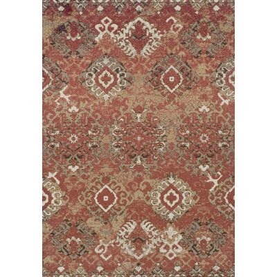 Milo Paprika Area Rug Rug Size: Rectangle 33 x 51