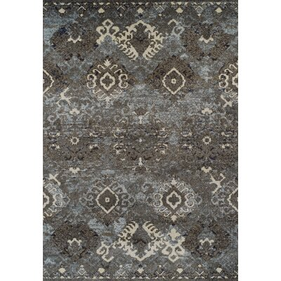 Milo Steel Area Rug Rug Size: Rectangle 33 x 51