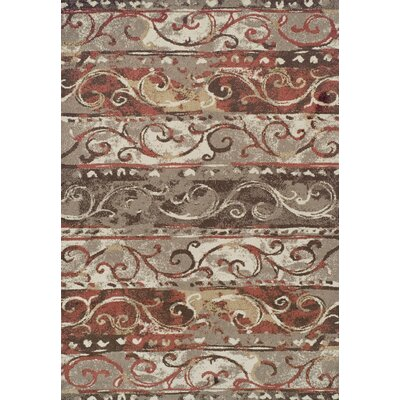 Madeleine Mocha Area Rug Rug Size: Rectangle 82 x 10