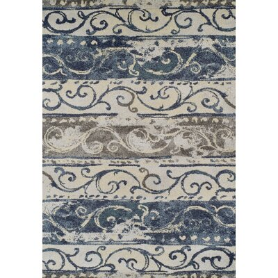 Madeleine Navy Area Rug Rug Size: Rectangle 33 x 51